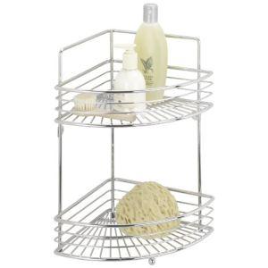 Wenko Etagère d\'angle 2 niveaux modèle Milano - Comparer avec ...