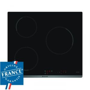 Brandt BPI6310B - Table de cuisson à induction 3 foyers