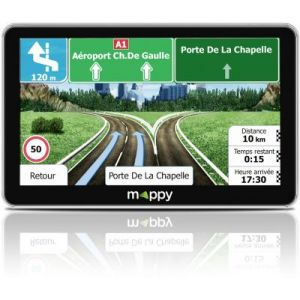 Mappy ULTI X755 Truck Europe - GPS pour poids lourds