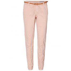 Vero Moda Vmflame Nw Chino Pants Noos, Pantalon Femme, Rose (Misty Rose), 36 (Taille Fabricant: X-Small)