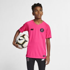 Nike Haut de footballà manches courtes Breathe Squad pour Enfant plus âgé - Rose - Taille L - Unisex