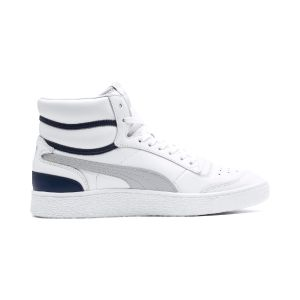 Puma Chaussures casual Ralph Sampson Mid Blanc / Gris - Taille 44