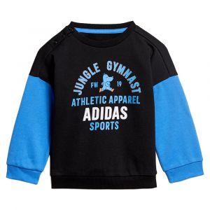 Adidas Survêtements Graphic Jogger Infant - Black / Real Blue - Taille 92 cm