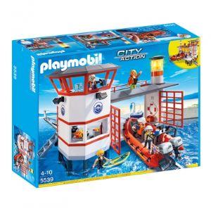 Playmobil 5539 City Action - Poste de secours des sauveteurs des mer