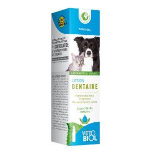 Vetobiol Lotion dentaire chiens et chats 100 ml