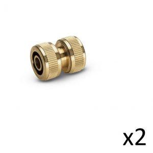 Kärcher Kit de 2 Raccords réparateur laiton 13-15mm - 2.645-102.0