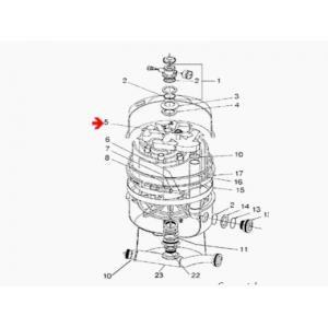 Procopi 251605 - Crépine de purge d'air de filtre Nautilus