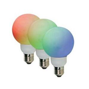 Velleman AMPOULE LED RGB - E27- 20 LED - Ø60mm - LAMPL60RGB -