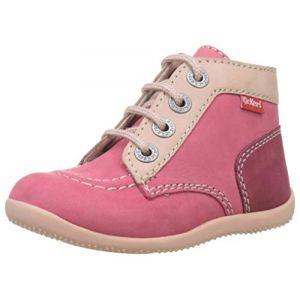 Kickers Boots enfant Bonbon rose - Taille 22