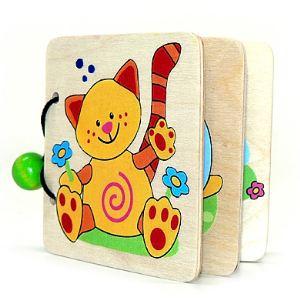 Hess-Spielzeug Livre d'images - Animaux en bois