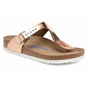 Birkenstock Gizeh Nl Wb W sandales cuivre 41 (normal) EU