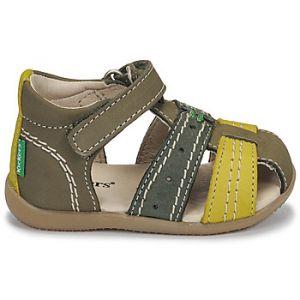 Kickers Sandales enfant BIGBAZAR-3 - Couleur 18 - Taille Vert