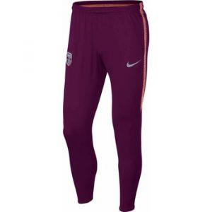 Nike Pantalon de football FC Barcelona Dri-FIT Squad pour Homme - Rouge - Taille XL