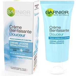 Garnier Crème Bienfaisante - Crème légère hydratante 24h