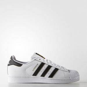 Adidas Superstar chaussures blanc noir 38 EU