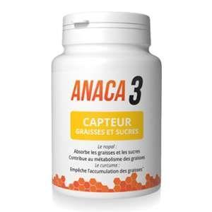 Anaca 3 Capteur de graisses et sucres 60 gélules