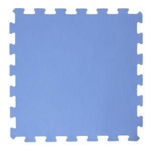 Intex Tapis de sol en mousse pour piscine - 8 Pièces Modulable - L. 50 x l. 50 cm - Bleu
