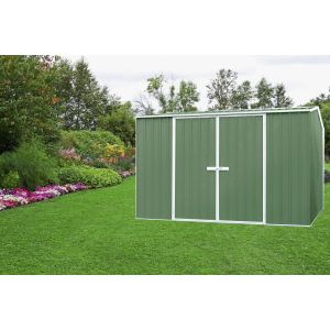 Foresta Absco AB 3030.02 - Abri de jardin en métal 8,76 m2 (montage inclus)