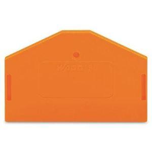 Wago 280-313 - Plaque d'extrémité et intermédiaire 100 pc(s)