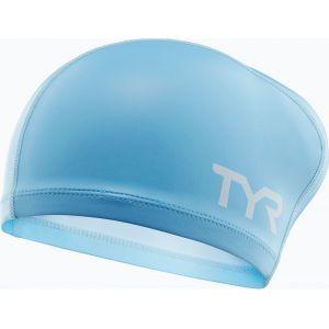 TYR Comfort Bonnet de bain Enfant bleu Bonnets de bain