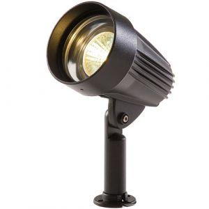 "Perel Garden Lights Projecteur LED ""Corvus"" en aluminium noir"