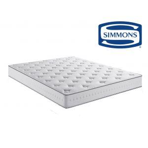 Simmons Matelas ressorts ensachés confort très ferme Blanc - Taille 120x190 cm;140x190 cm;160x200 cm;90x190 cm