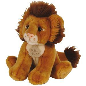 Histoire d'ours Peluche Les Authentiques : Lion 20 cm