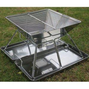 Barbecue portable en acier inox