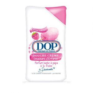 Dop Douche crème Douceurs d'Enfance parfum Barbe à papa à la fraise de Sananas