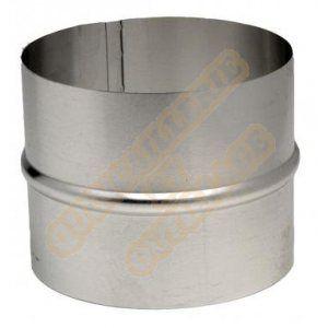 Ten raccord en aluminium pour gaine accordéon diamètre intérieur 150mm 454150
