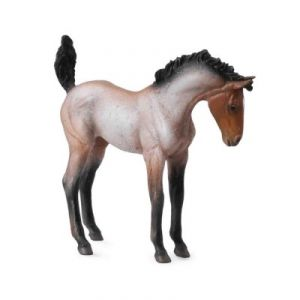 Collecta 88545 - Figurine cheval Poulain Mustang baie rouan
