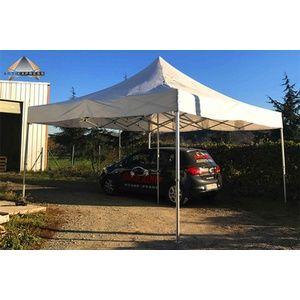 Tente pliante 5x5 structure aluminium 50mm toit 300g/m² qualité professionnelle