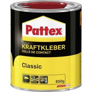 Pattex Colle forte classique, avec du solvant, 650 g boîte