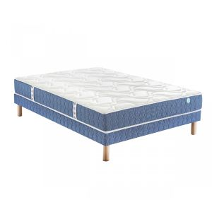 Merinos Ensemble matelas story ressorts sommier pieds 90x190