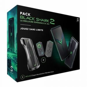 Blackshark Smartphone PACK 2 + COQUE + GAMEPAD