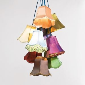 Kare Design Suspension Saloon Flowers 9 ampoules