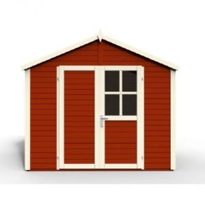 Sonderborg 3 - Abri de jardin en bois peint 5,82 m2