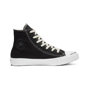 Converse Chaussures casual unisexe Chuck Taylor All Star montantes toile recyclée Renew P.E.T Canvas Noir - Taille 42