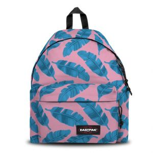 Eastpak Padded Pak'r Sac à Dos, 40 cm, 24 L, Rose (Brize Leaves Pink)
