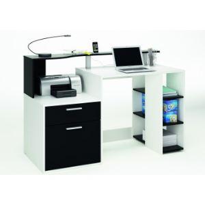 Bureau multimédia Oracle 1 tiroir et 1 porte