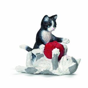 Schleich Figurine Chatons jouant avec une pelote de laine