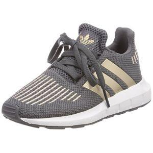 Adidas Swift Run C, Chaussures de Fitness Mixte Enfant, Gris (Gricin/Cobmet/Ftwbla 000), 30 EU