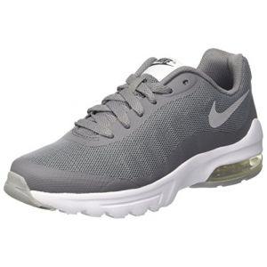 Nike Air Max Invigor GS, Chaussures de Running garçon, Gris (Cool Wolf Grey-Anthracite-White), 36 EU