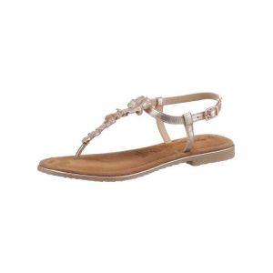 Tamaris : sandales à brides >Minu« Rose