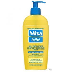 Mixa bébé Gel très doux corps et cheveux 2 en 1 - 2 x 250 ml