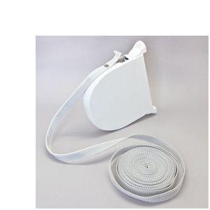 Volet moustiquaire Enrouleur de Sangle à Enroulement Rapide pour sangle 14 mm - Blanc