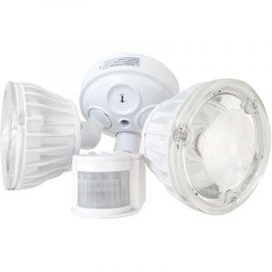 Atlantic's Double Projecteur LED à détection de mouvement - 2x10W