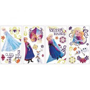 ROOMMATES Stickers LA REINE DES NEIGES SPRING BRILLIANT (36 stickers)