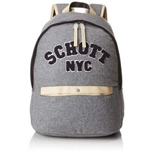 Schott Sac à Dos - 1 Compartiment - Primaire / Collège - 31 cm - Mocked Grey - Enfant Garçon /Fille