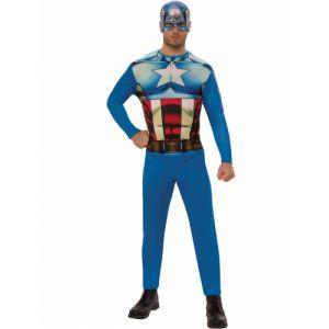 Déguisement cl ique Captain America adulte Taille L